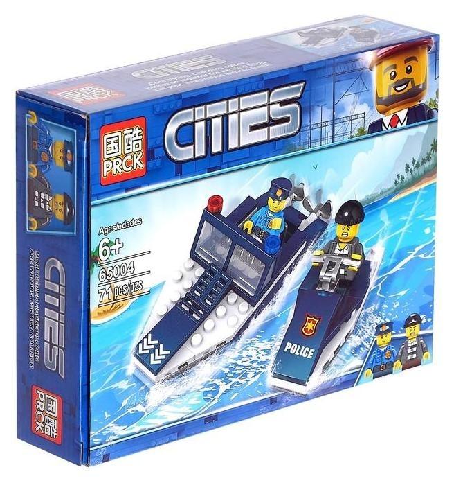 Конструктор «Береговая охрана», 71 деталь PRCK Cities