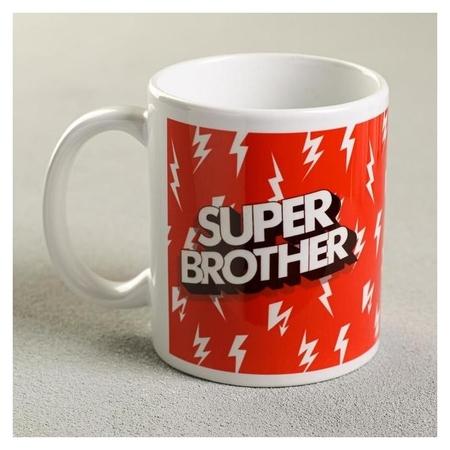Кружка с сублимацией Super Brother молнии, 300 мл NNB