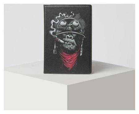 Обложка для паспорта, цвет чёрный NNB