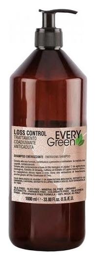 Органический безсульфатный шампунь против выпадения волос Loss Control Energizing Shampoo   Dikson