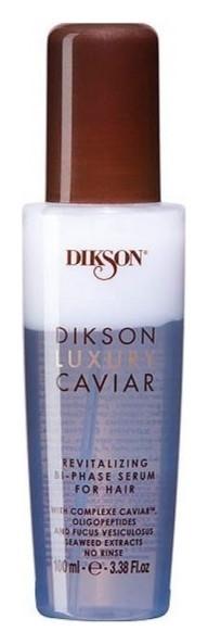 Сыворотка для волос ревитализирующая двухфазная с экстрактом черной икры Revitalizing Bi-Phase Serum  Dikson
