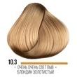 Крем-краска для волос Hair Cream Colourant Тон 10.3 Очень очень светлый блондин золотистый