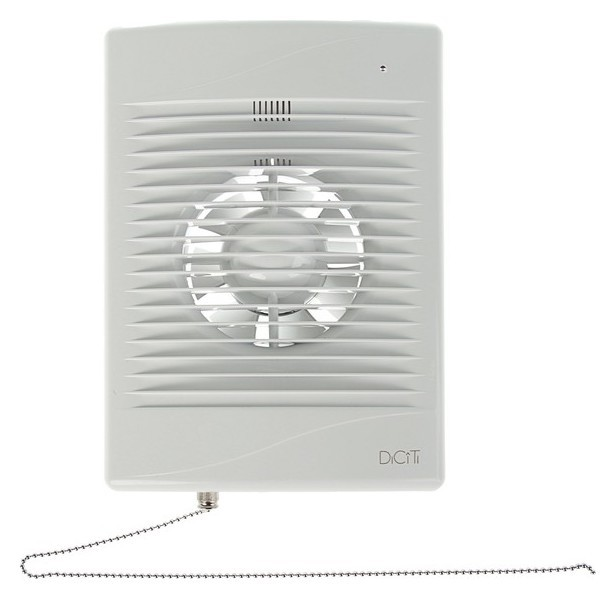 Вентилятор вытяжной Diciti Standard 4-02, 180х250 мм, D=100 мм, 220‒240 В, с выключателем  Diciti