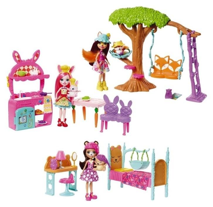 Набор игровой «Энчантималс» Mattel