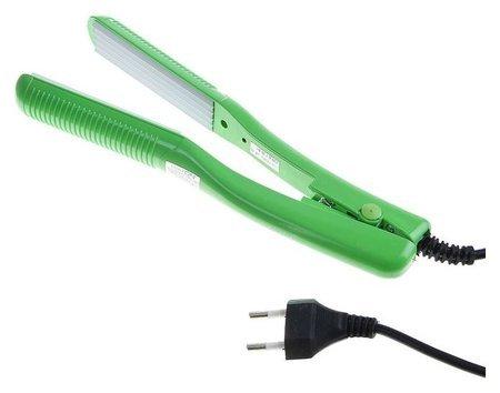 Щипцы-гофре Luazon Lw-46, 35 Вт, 160 С, керамические пластины, зелёные LuazON