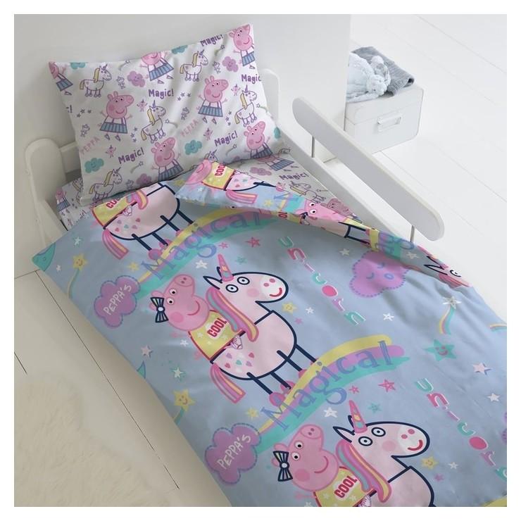 Постельное бельё 1,5 сп свинка пеппа «Волшебный сон» Peppa Pig