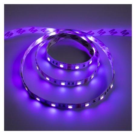 Светодиодная разноцветная лента Ecola, 60led/m, 14.4 вт/м, Ip20, 1 м,10 мм, RGB  Ecola