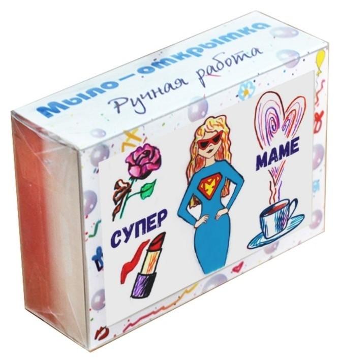 Мыло-открытка Супермаме Elibest