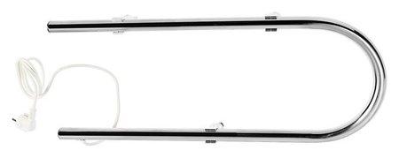 Полотенцесушитель электрический тера, п-образный, 220х600 мм, D=25  Тера