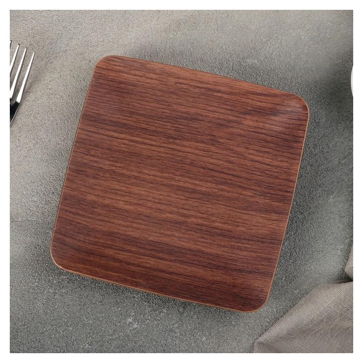 Тарелка пирожковая 15х15 см Evelin