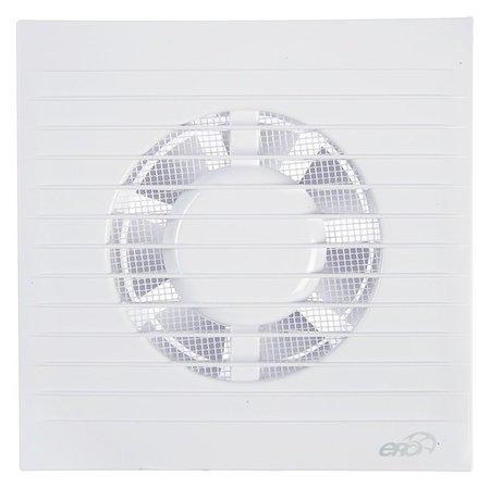 Вентилятор вытяжной ERA E 100 S, 165х165 мм, D=100 мм, 220 В  ERA