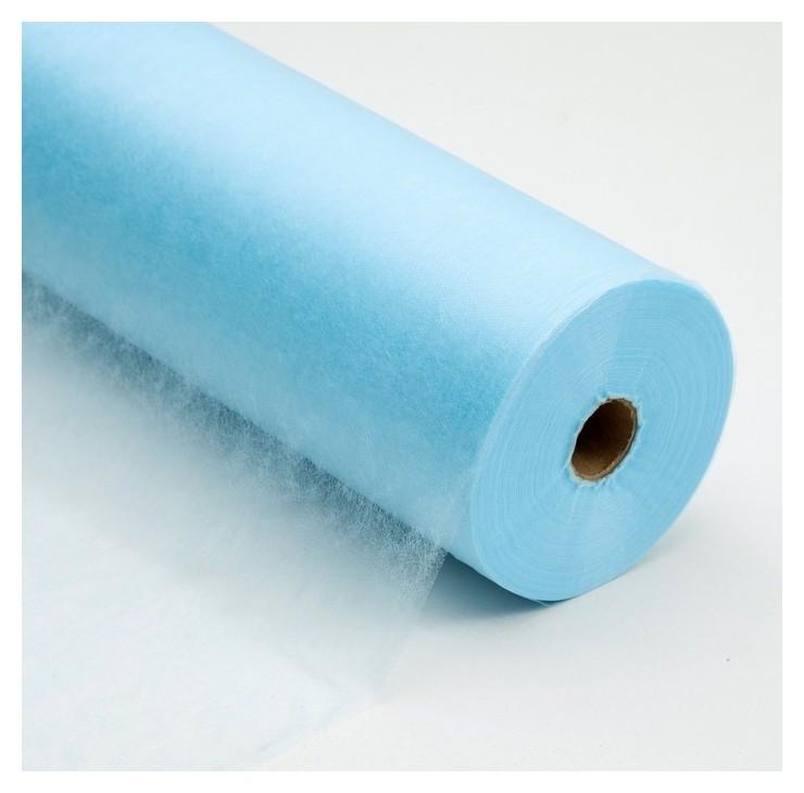 Салфетка, плотность 17 г/м2, Sms, 40 × 40 см, 200 шт, цвет голубой  White line