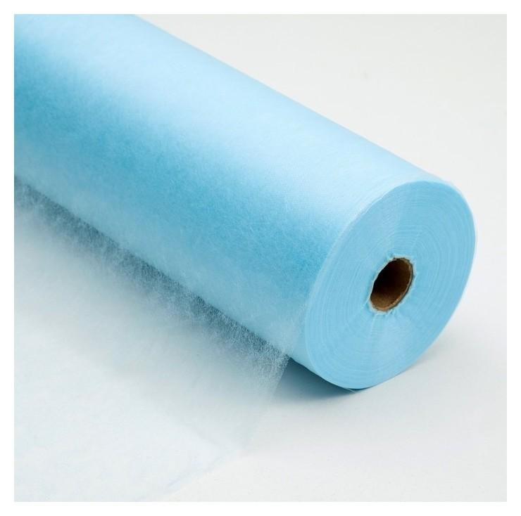 Салфетка, плотность 17 г/м2, Sms, 40 × 60 см, 200 шт, цвет голубой  White line