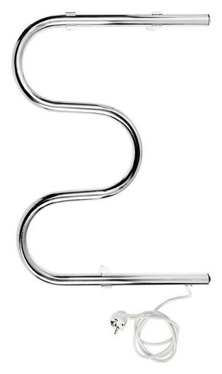 Полотенцесушитель электрический тера, м-образный, 500х400 мм, D=25  Тера