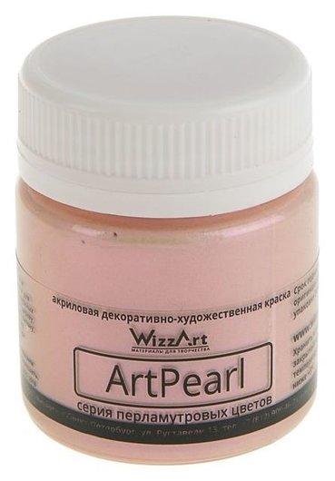 Краска акриловая 40 мл Wizzart Artpearl, Chameleon, кремовая Wc8.40  WizzArt