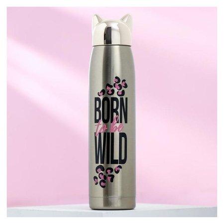 "Термос ""Born To Be Wild""  Командор"