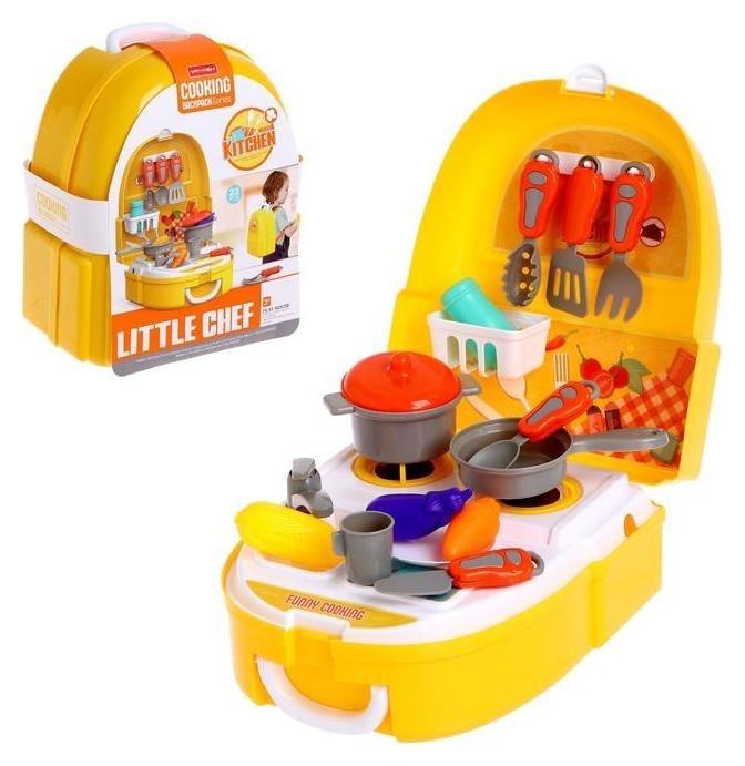 Набор кухни в рюкзаке «Маленький шеф» NNB