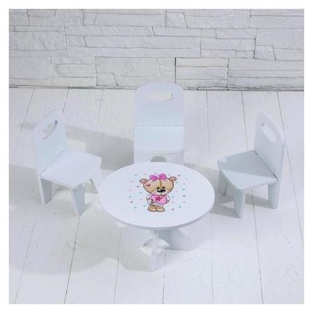 Набор стол+стулья, серия «Мишутки»  Коняша