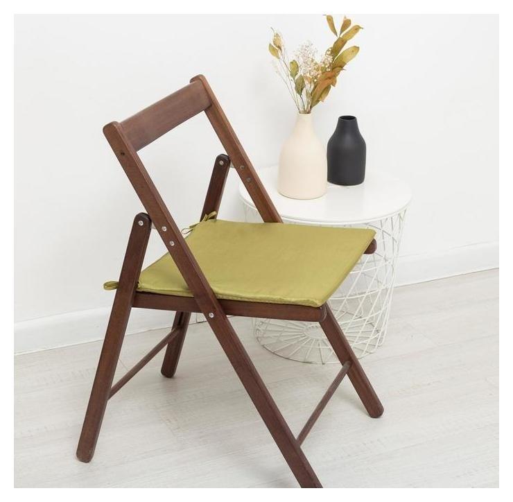 Сидушка на стул жаккард 40х40х1,5  Witerra