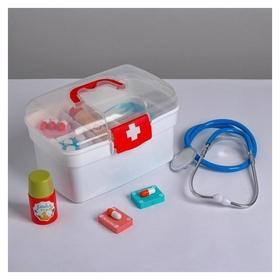 Детский игровой набор «Медик» 20.5×12.5×13,5 см