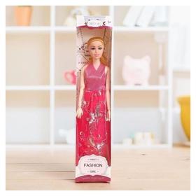 Кукла модель шарнирная «Лида» в платье