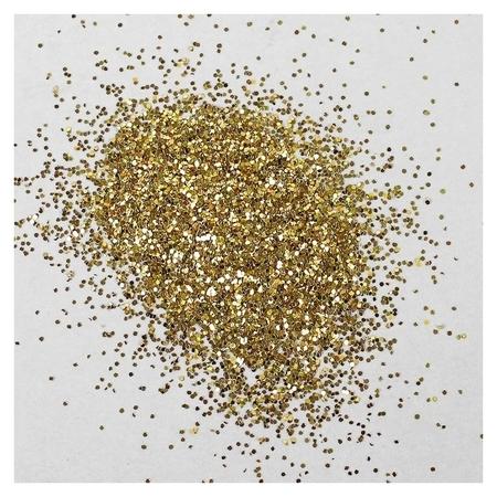 Наполнитель для шара «Блёстки», 0.4 мм, 500 г, цвет золотой  NNB