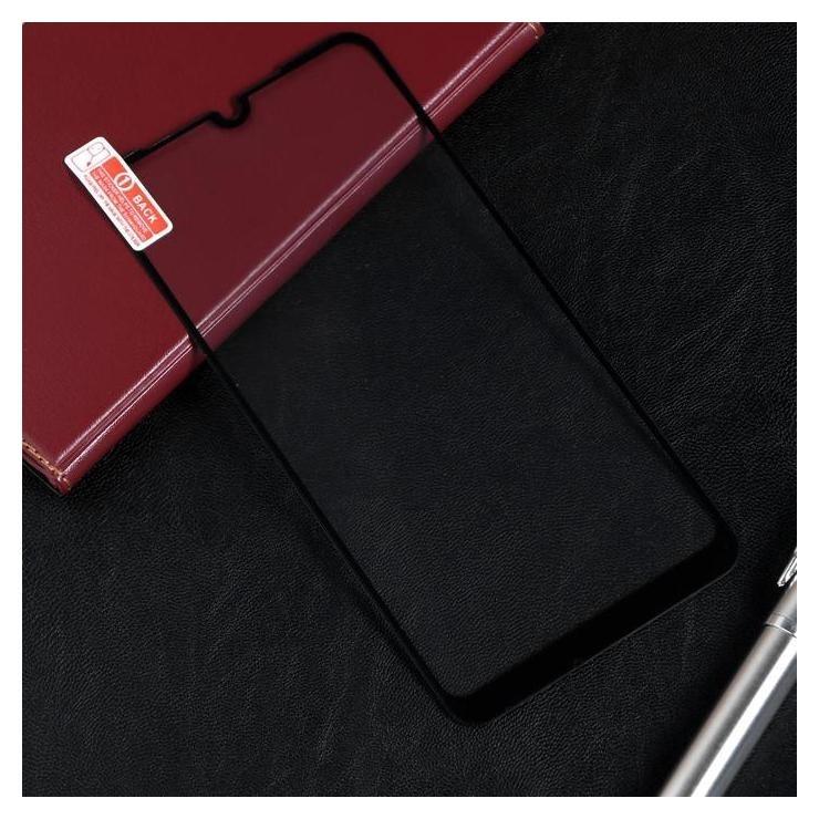 Защитное стекло Red Line для Xiaomi Redmi 7, Full Screen, полный клей, черное Red line