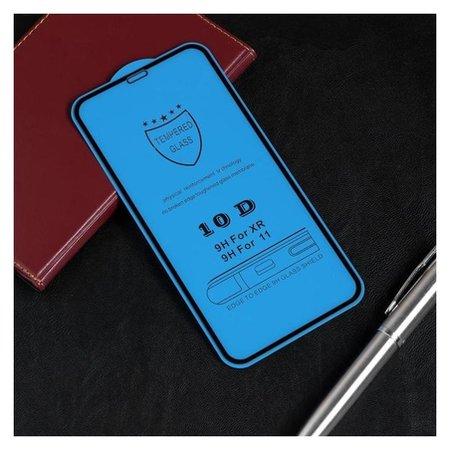 Защитное стекло Red Line для Iphone 11/xr, Full Screen, полный клей, черное  Red line