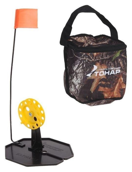 Набор жерлиц в сумке «Тонар», D=185 мм, катушка D=85 мм, 10 шт. жз-02м Тонар