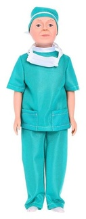 Кукла «Борис-врач», 30 см