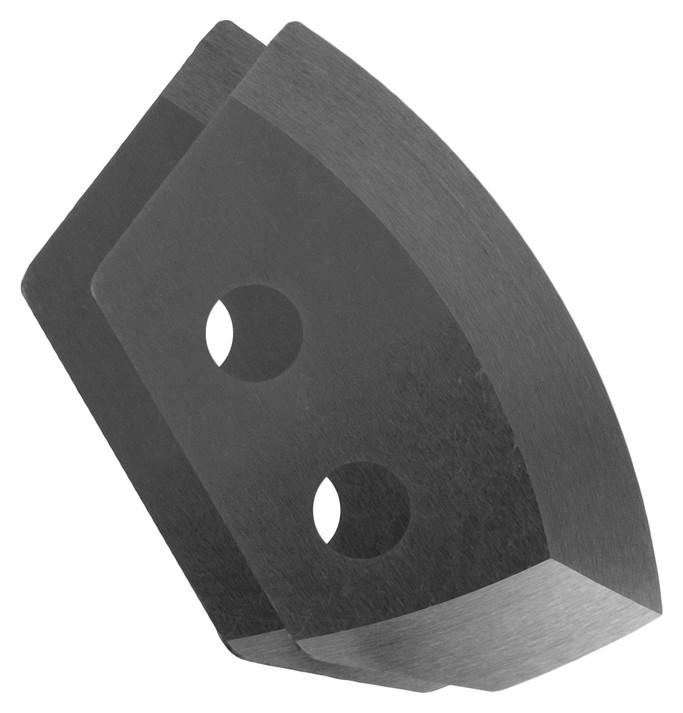 Ножи для ледобура полукруглые универсальные, D=130 мм ПВ (Набор 2 шт.) Nero