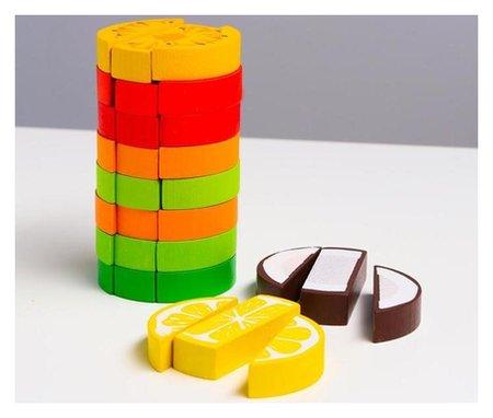 Логический игровой набор «Башня. фрукты», 30 деталей  Томик