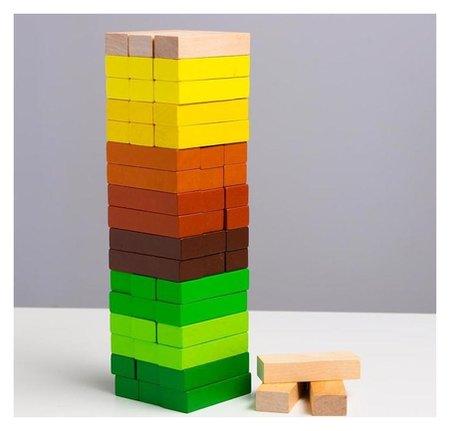 Логический игровой набор «Башня. лес», 54 детали  Томик