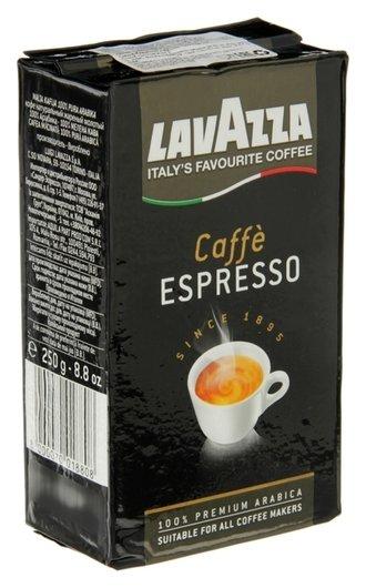 Кофе Lavazza Espresso молотый в.у. 250 гр.  Lavazza