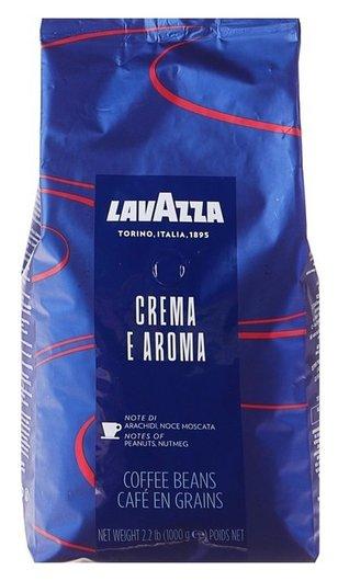 Кофе Lavazza Crema Aroma Espresso в зернах, средняя обжарка 1 кг  Lavazza