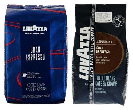 Кофе Lavazza Gran Espresso, в зернах, средняя обжарка 1 кг  Lavazza