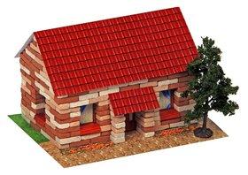 Конструктор из кирпичиков «Сельский домик», 310 деталей
