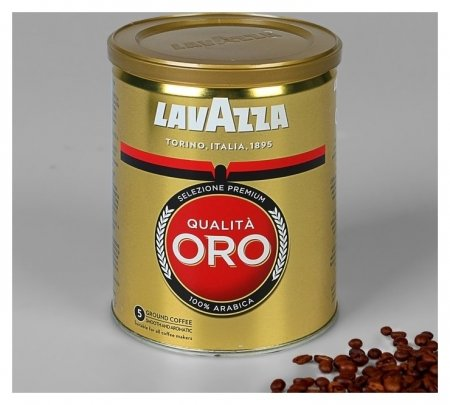 Кофе Lavazza Оро 250 гр молотый. ж/б  Lavazza