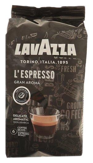 Кофе Lavazza Gran Aroma Bar в зёрнах. 1кг  Lavazza