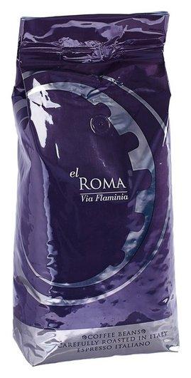 Кофе в зернах El Roma Via Flaminia 1000 г  Lavazza