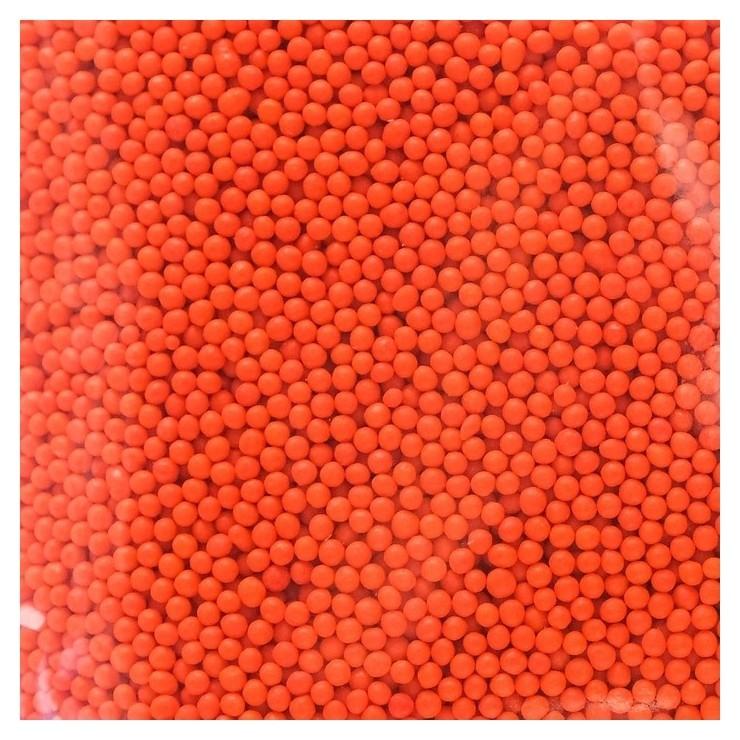 Кондитерская посыпка «Шарики», оранжевая, 1 кг Топ Декор