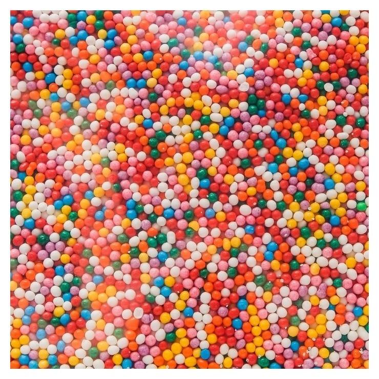 Кондитерская посыпка «Шарики», разноцветный №1, 1 кг Топ Декор