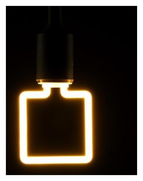 Лампа светодиодная Thomson LED Square, 4 Вт, е27, 2700 К, 400 Лм, матовая КНР
