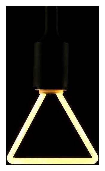 Лампа светодиодная Thomson LED Deco Triangle, 4 Вт, е27, 2700 К, 400 Лм, матовая КНР