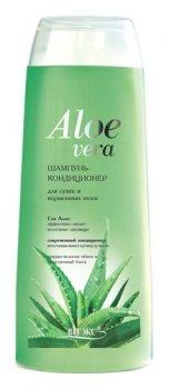 Шампунь – кондиционер для сухих и нормальных волос  Алоэ Вера