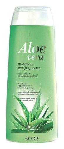 Купить Шампунь для волос Belita, Шампунь – кондиционер для сухих и нормальных волос Алоэ Вера, Беларусь