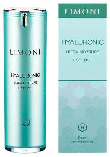 Ультраувлажняющая эссенция для лица с гиалуроновой кислотой  Limoni