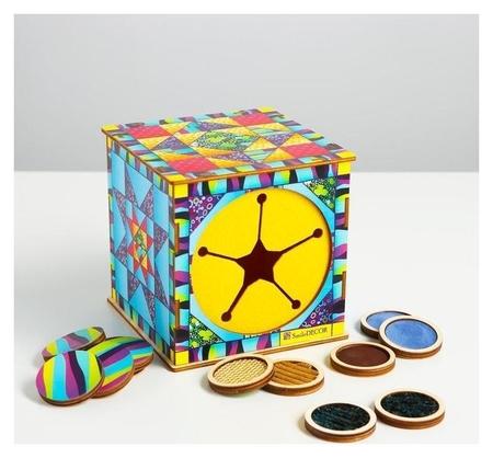 Тактильный куб «Парочки»  Smile Decor