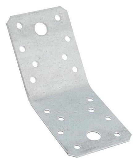 Уголок крепёжный Tundra, 135х70х70х55х2 мм, гоц, в упаковке 1 шт.  Tundra
