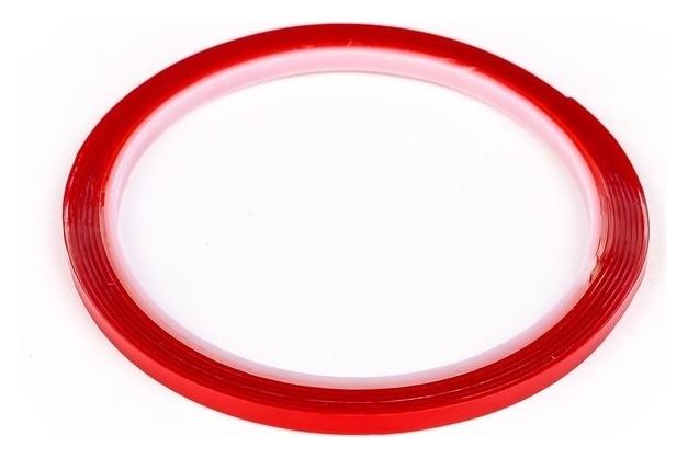 Клейкая лента Torso, прозрачная, двусторонняя, акриловая, 4 мм X 2 м  Torso